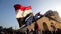 'Türk Restoranı' binası, Bağdat'ta protestocuların kalesi haline geldi
