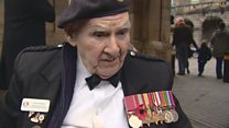 War veteran Tom recalls laying a poppy for his brother