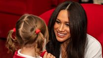Duke and Duchess of Sussex visit military families