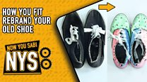 How you fit rebrand your old shoe