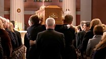 Gay Byrne's funeral takes place in Dublin