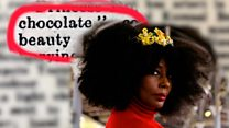 The 'chocolate' princess who caused a media storm