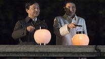 日本举行天皇即位国民庆典 因风灾推迟至今