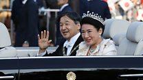 پایان جشنهای ژاپن، آغاز امپراتوری جدید