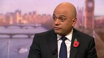 Javid defends Tory claims about Labour's spending