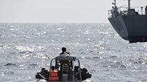"""""""La piraterie coûte entre 600 et 1.000 milliards de $ au monde, des dizaines de milliards de $ au Golfe de Guinée"""""""