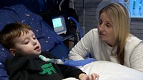 Boy, 4, home from hospital after seven month delay