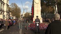 Two-minute silence held for those who died in conflict