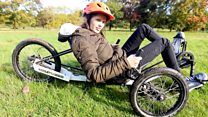 Charity gives disabled children a chance to cycle