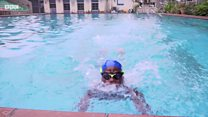 Meet di 8 year old fastest swimmer for Lagos, Nigeria