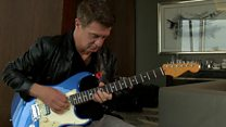 How do you update an iconic electric guitar?