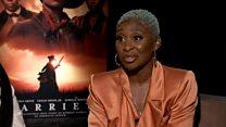 Cynthia Erivo on her role as Harriet Tubman