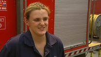 Pregnant firefighter: 'It's not about me'