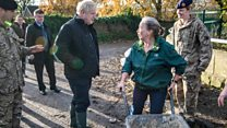 PM heckled in flood-hit South Yorkshire