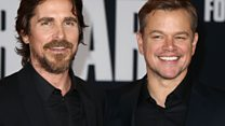 Bale and Damon on going head-to-head in auditions