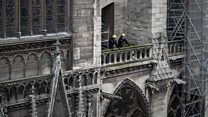 Inside Notre Dame seven months after the fire
