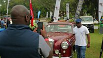 Uganda's vintage vehicle competition
