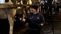 'People aren't used to seeing a woman on a farm'