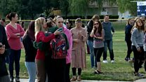 Emotional reunions after California school shooting