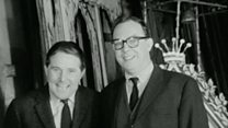 Unseen Morecambe and Wise interview rediscovered