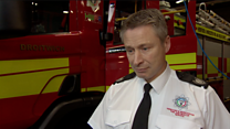 Firefighters rescue 100 people from floodwater