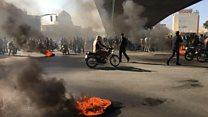 ادامه اعتراضها به گرانی بنزین در چهار گوشه ایران
