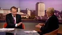 Corbyn quizzed on future of Trident nuclear weapons