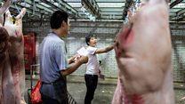 非洲猪瘟:疫情笼罩下他的猪肉铺辞退了七名员工