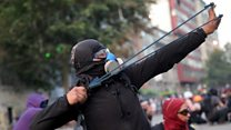 Chile protests continue into second month
