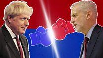 Johnson v Corbyn: The head-to-head in three minutes