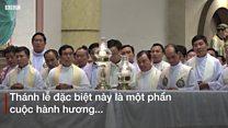 Giáo dân Việt nói gì khi sang Thái Lan mong gặp Đức Giáo Hoàng Francis?