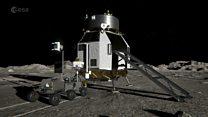 Europe is developing a lunar lander spacecraft