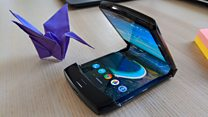 Hands-on with folding Motorola Razr