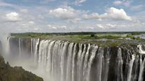 Could Victoria Falls dry up?