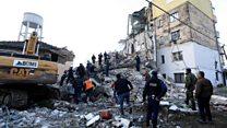 Rescuers search for Albania quake survivors
