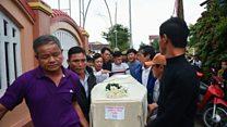 Gia đình Diễn Châu 'nhẹ lòng' khi nhận thi thể nạn nhân