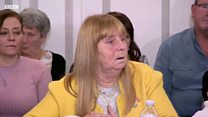 Margaret Aspinall reacts to Duckenfield trial verdict