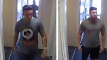CCTV catches of brothers threatening to kill staff