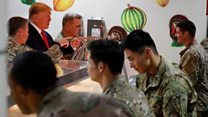 Trump's Thanksgiving with US troops in Afghanistan