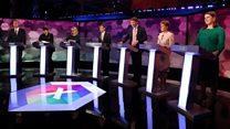Key moments from the seven-way BBC election debate