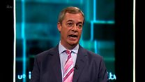 Farage on Trump: 'Men say dreadful things sometimes'