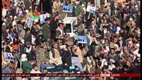 تظاهرات طرفداران عبدالله عبدالله در شمال افغانستان