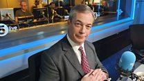 Nigel Farage: 'I made a huge mistake leaving politics in 2016'