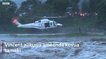 Jinsi mvuvi huyu wa Kenya alivyookolewa na ndege katika mafuriko