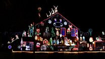 Christmas light celebration marks 25 years