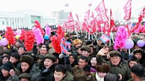 North Korea: Crowds see 'model' town opened