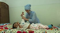 وضعیت کودکان معلول در تاجیکستان