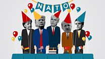 Nato summit: The rifts leisurely its Seventieth birthday bash thumbnail