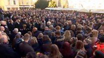 Cambridge vigils for London Bridge attack victims