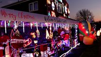 Thousands of lights create Christmas attraction